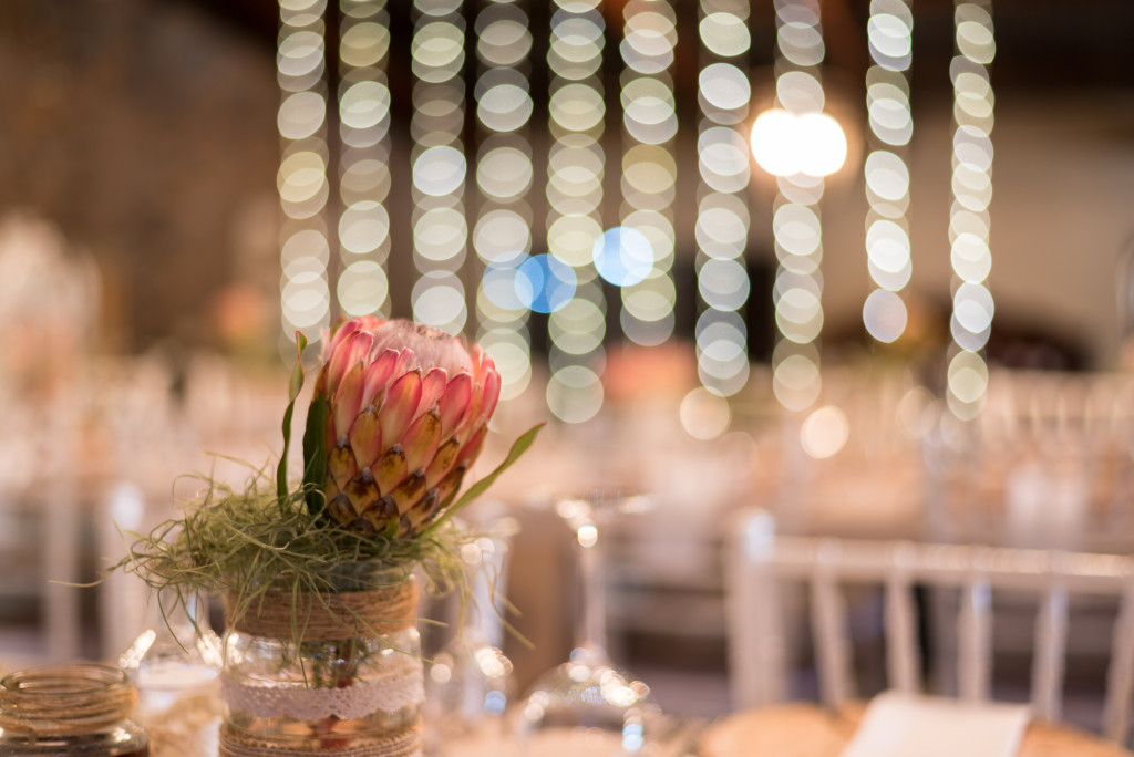 Tables, Decoration, Protea