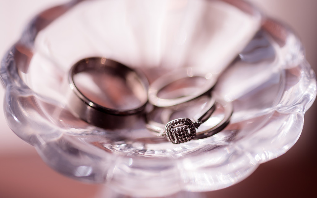 Rings, macro, Close up, wedding