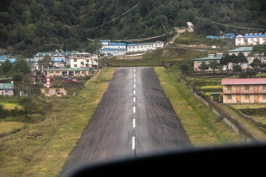 runway, lukla