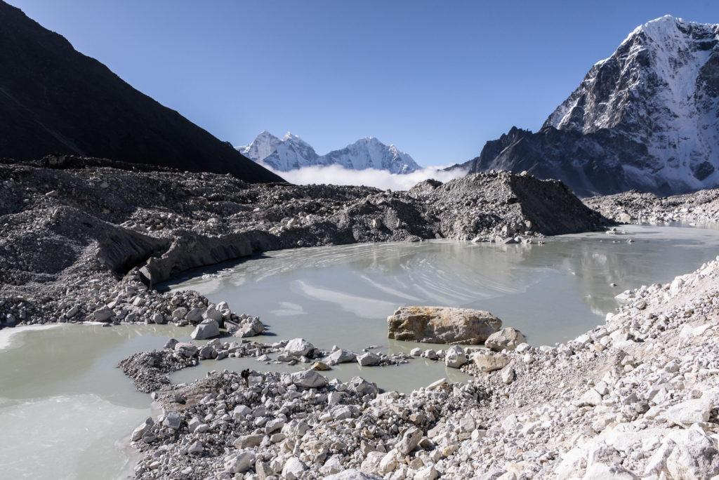 Glacial pool
